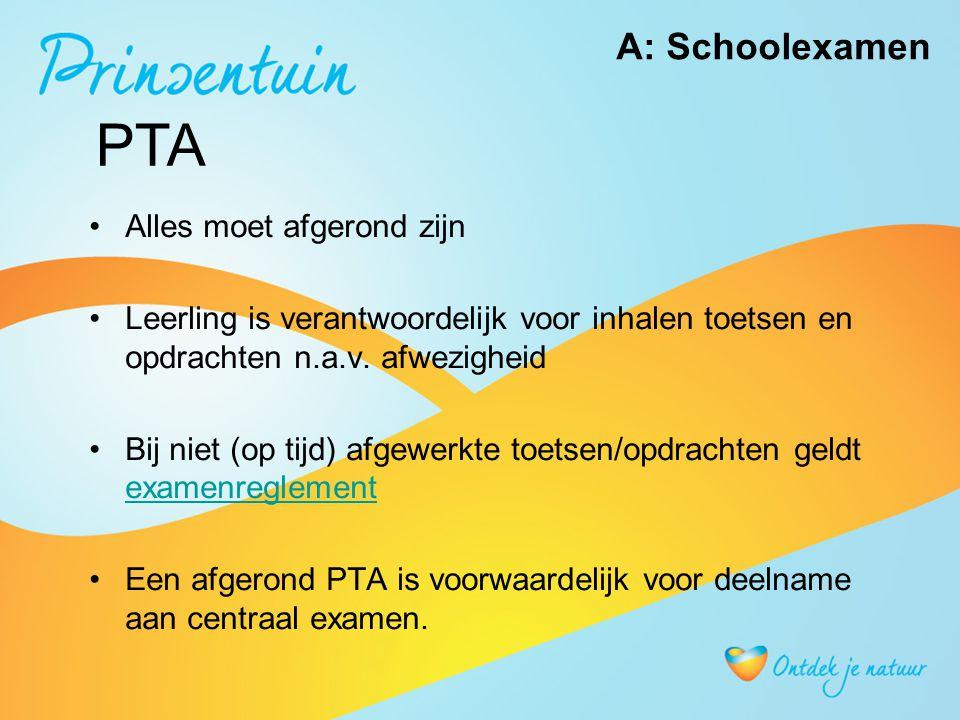 Vakken leerjaar 4 Met centraal eindexamen: - Nederlands- Engels - Wiskunde- Biologie - Duits(keuzevak in GL)- Nask 1 (keuzevak GL-KB) - Beroepsgerichte vakken - Economie (keuzevak) Zonder centraal eindexamen (alleen schoolexamen): -Lichamelijke opvoeding > moet voldoende zijn -CKV > moet voldoende zijn - Maatschappijleer (wordt afgerond in klas 3 !!)telt mee als punt bij de zak slaag regeling Leerjaar 4 !!