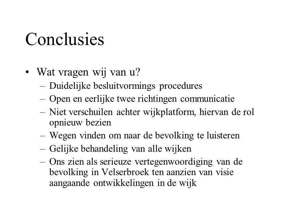 Actiegroep Velserbroek-Oost –Voor meer informatie kunt u bellen met Lidwina Wever, tel.: 023-5376887 of kijk op onze website: www.home.zonnet.nl/infovelserbroek