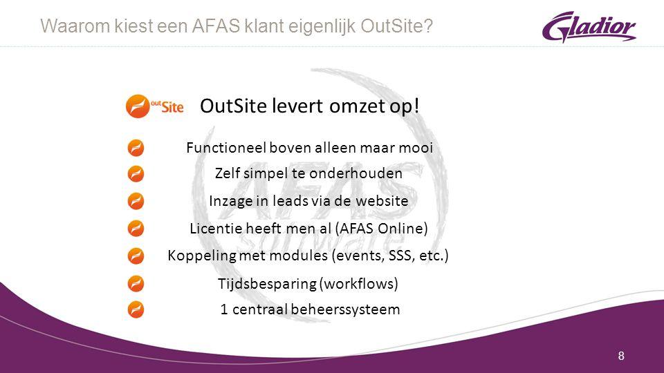 Waarom kiest een AFAS klant eigenlijk OutSite.