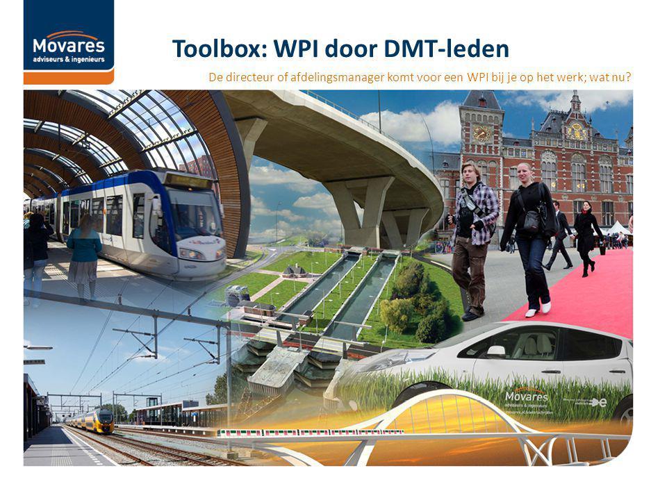 Toolbox: WPI door DMT-leden De directeur of afdelingsmanager komt voor een WPI bij je op het werk; wat nu?