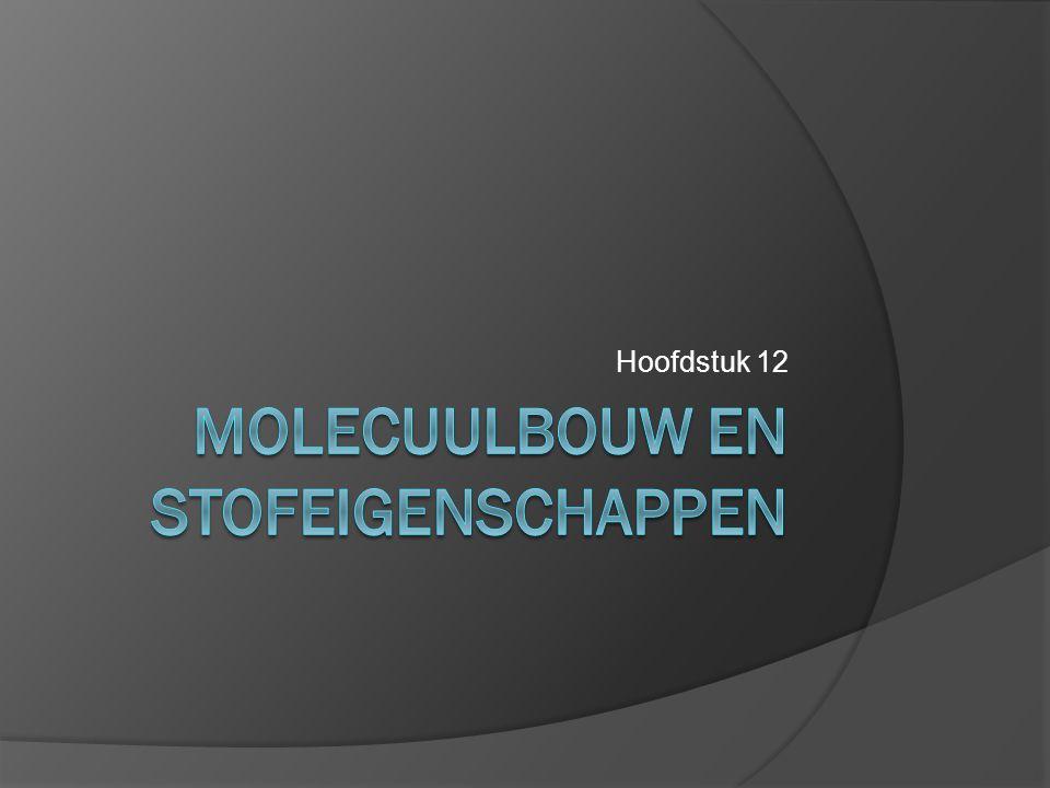 Stereochemie: Cis/Trans-isomerie Van een cyclomolecuul waarbij aan 2 C-atomen TWEE verschillende groepen zitten zijn er 2 ruimtelijke vormen van dit molecuul F beide boven of onder 1 F boven en 1 F onder Cis-1,2- difluorcyclobutaan Trans-1,2- difluorcyclobutaan