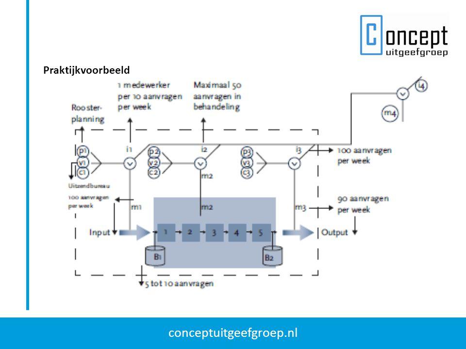 conceptuitgeefgroep.nl Praktijkvoorbeeld