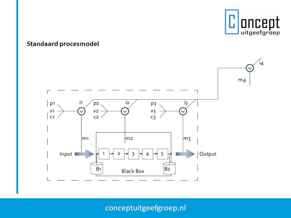 conceptuitgeefgroep.nl Standaard procesmodel