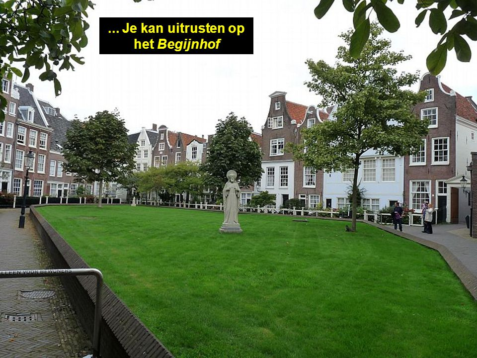 Het huis van Anne Frank.