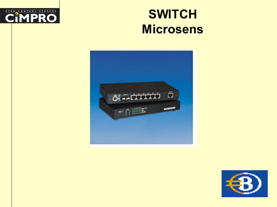 SWITCH Microsens
