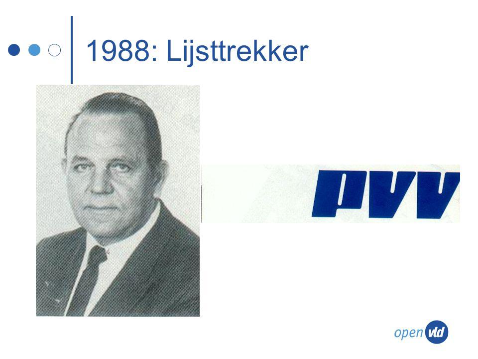 1988: Lijsttrekker