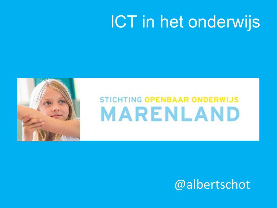 @albertschot ICT in het onderwijs