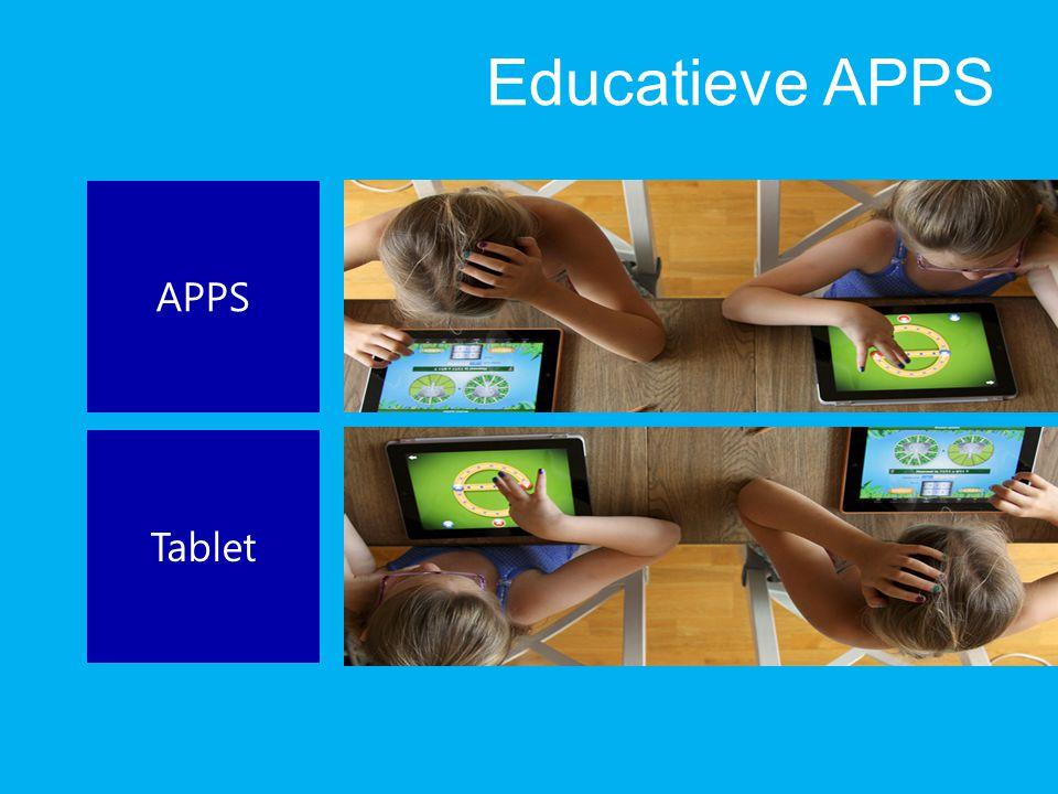 Educatieve APPS APPS Tablet