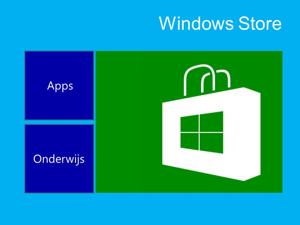 Windows Store Apps Onderwijs
