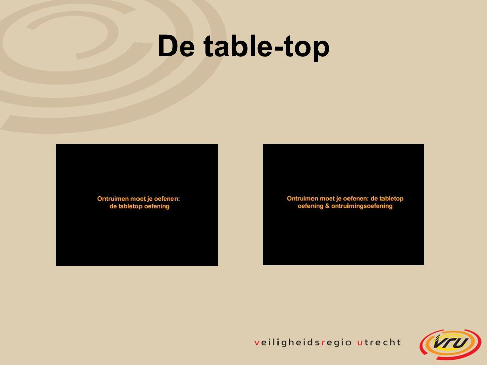 De table-top