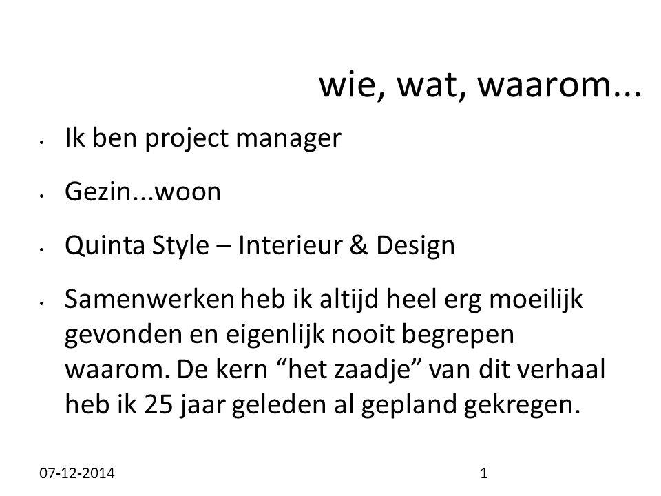 Ik ben project manager Gezin...woon Quinta Style – Interieur & Design Samenwerken heb ik altijd heel erg moeilijk gevonden en eigenlijk nooit begrepen waarom.