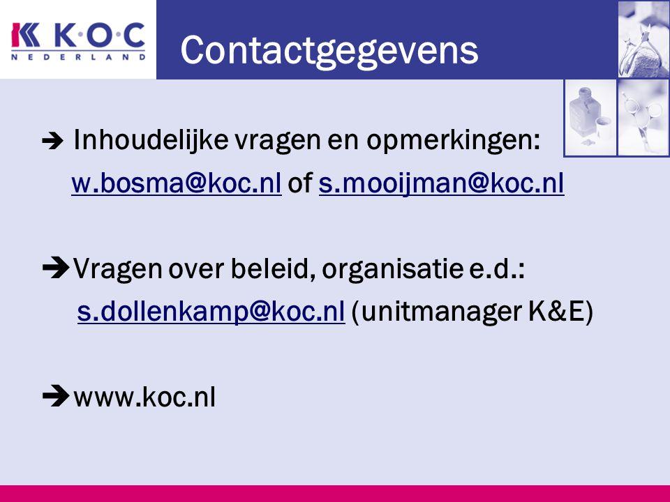 Context PvB Kosten Branches en scholen. KCE Visie Organisatie Kwalificatiedossier