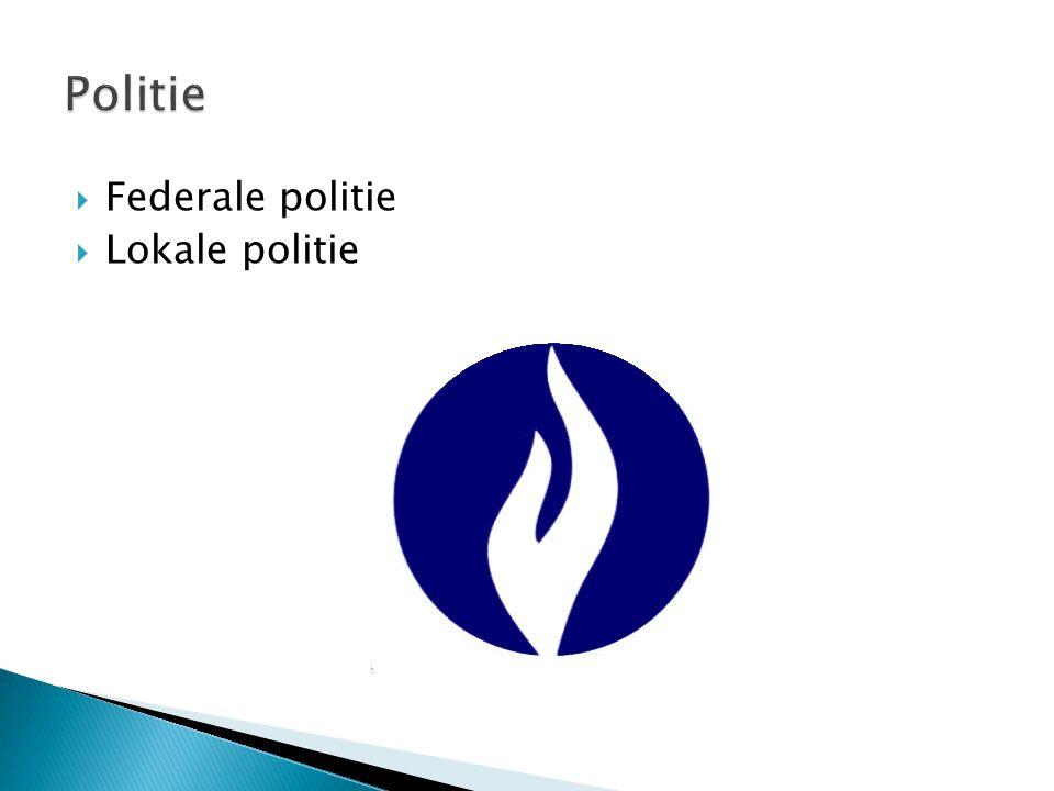  Federale politie  Lokale politie