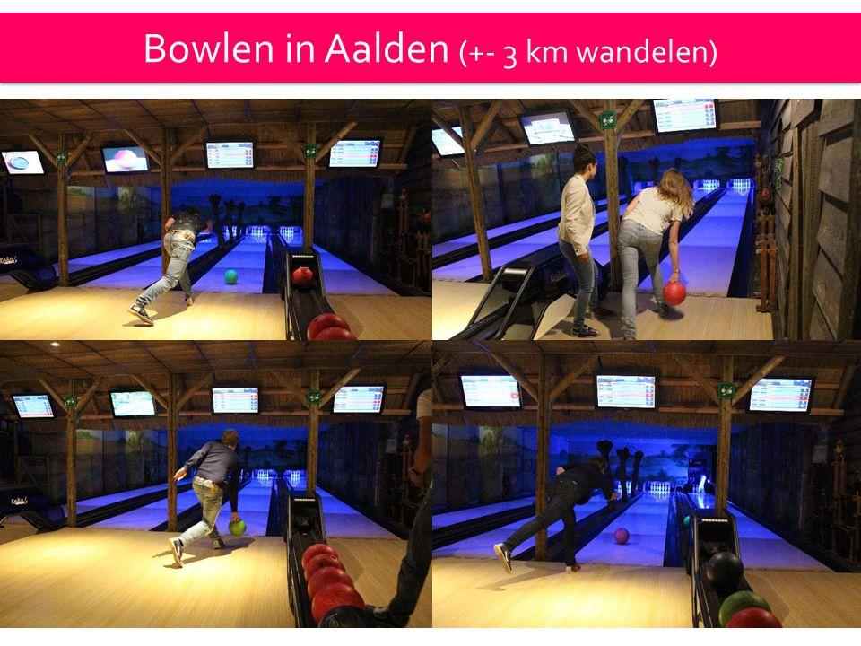 Bowlen in Aalden (+- 3 km wandelen)