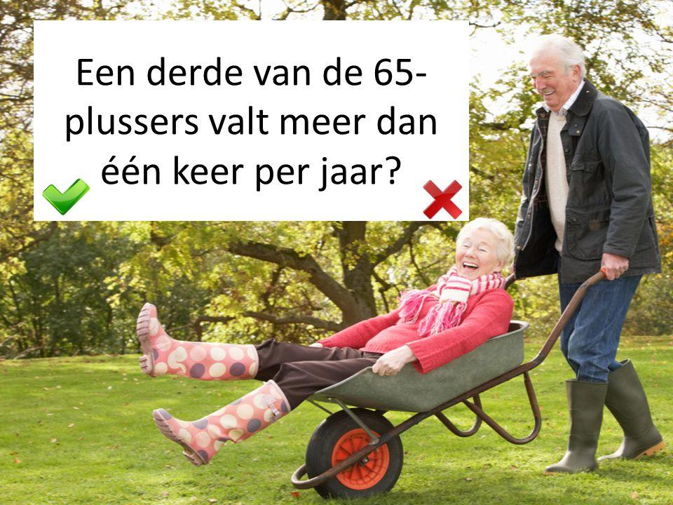 Het risico op vallen stijgt met de leeftijd?