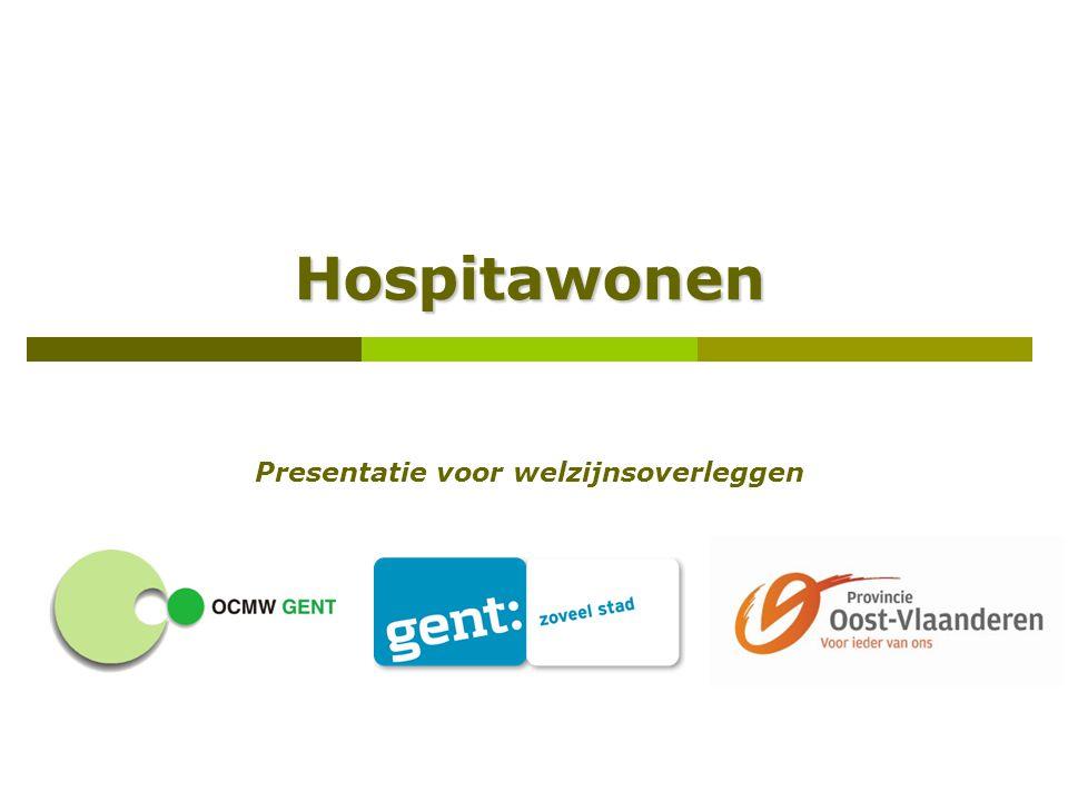 Hospitawonen Presentatie voor welzijnsoverleggen