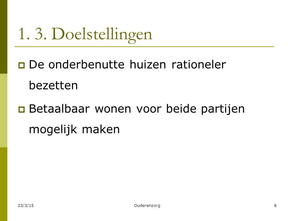 1.4.Juridische aandachtspunten  Voor de verhuurder Invloed op belastingen.