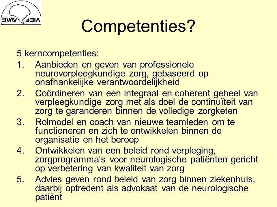 Competenties.
