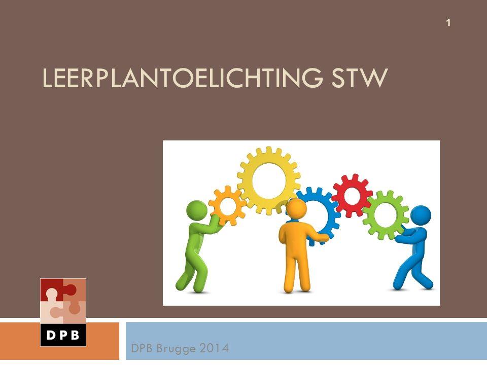 LEERPLANTOELICHTING STW DPB Brugge 2014 1