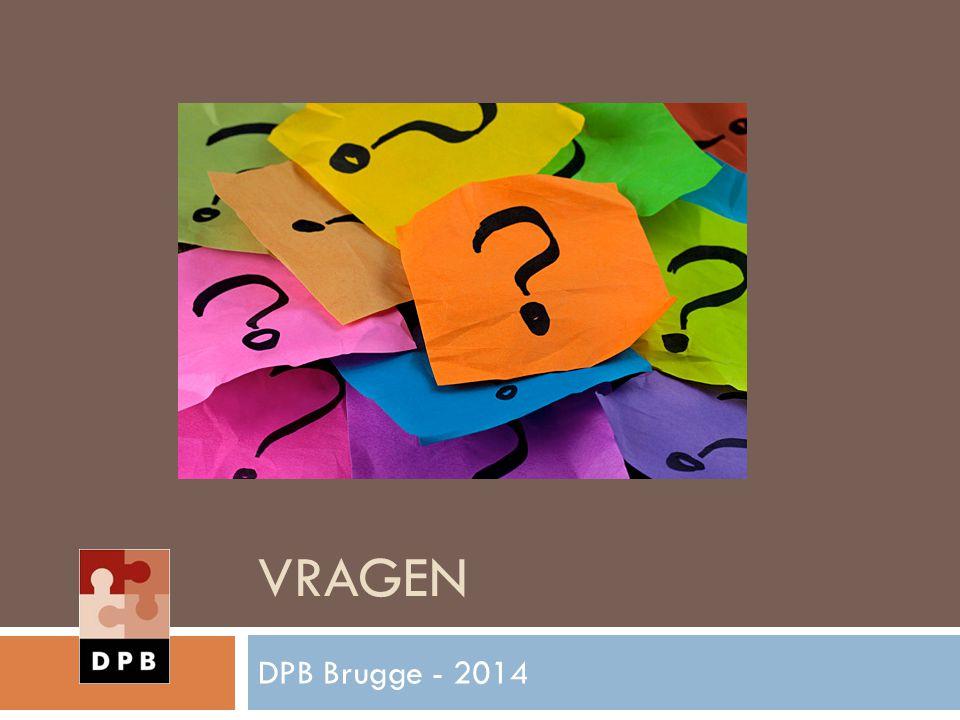VRAGEN DPB Brugge - 2014