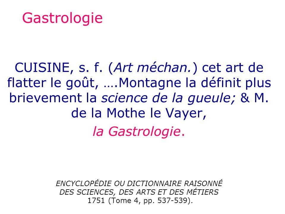 Gastrologie CUISINE, s.f.