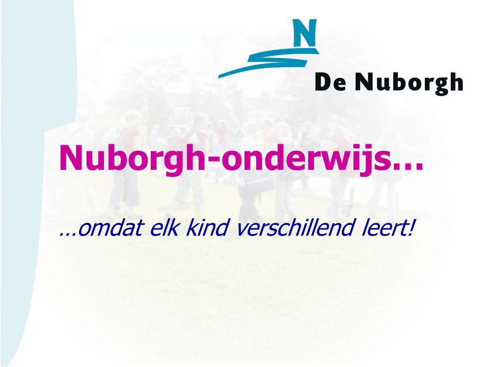 Nuborgh-onderwijs… …omdat elk kind verschillend leert!