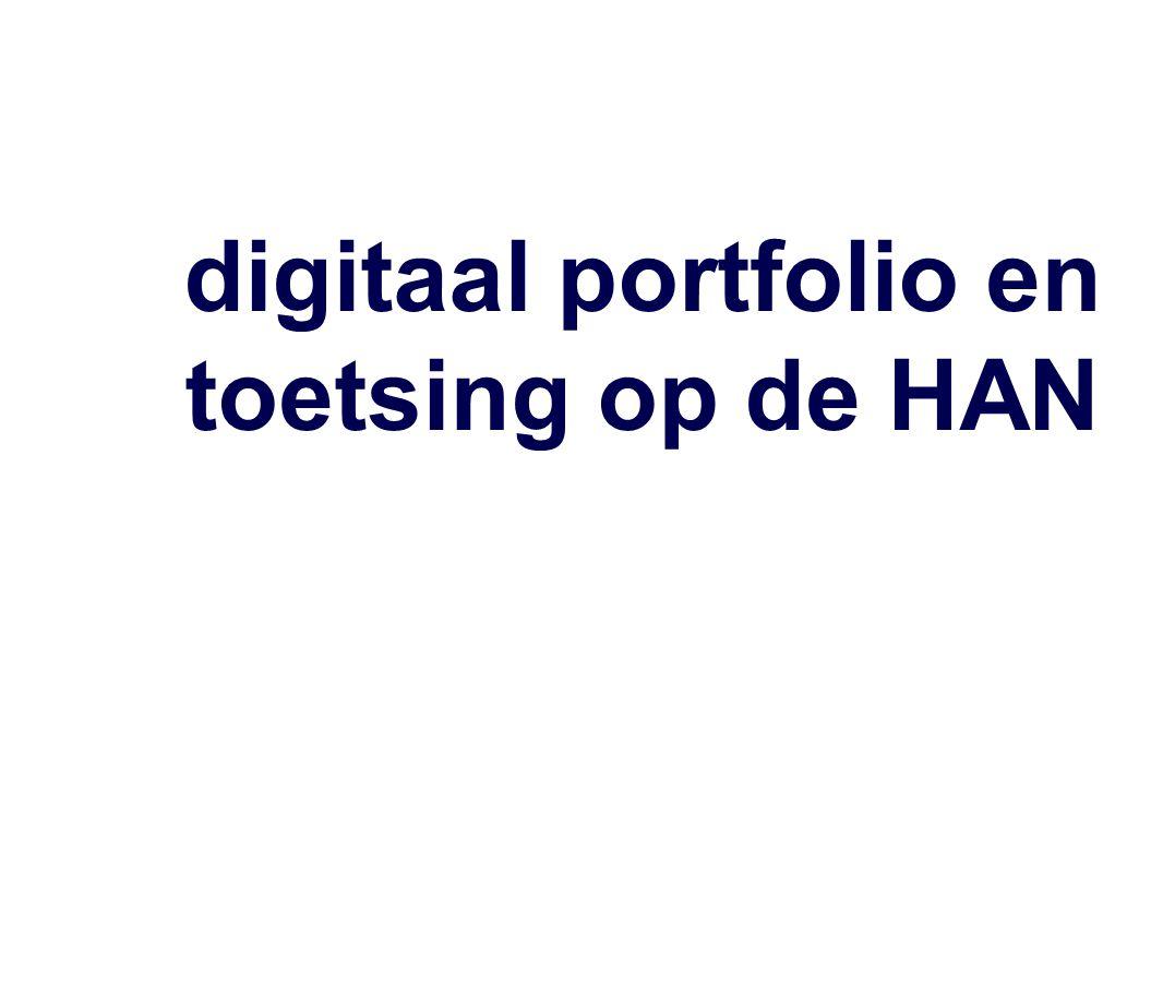 introductie ·Harry Stokhof (harry.stokhof@han.nl) ·Docent, slb-er Pabo Groenewoud ·Lid onderzoeksgroep faculteit Educatie · ex-lid Projectteam Implementatie Digitaal Portfolio.