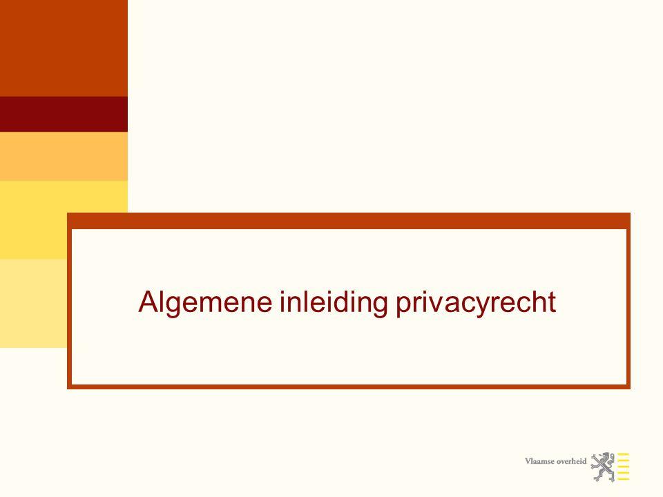 Algemene inleiding privacyrecht