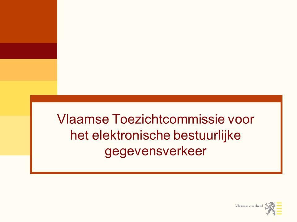 Vlaamse Toezichtcommissie voor het elektronische bestuurlijke gegevensverkeer