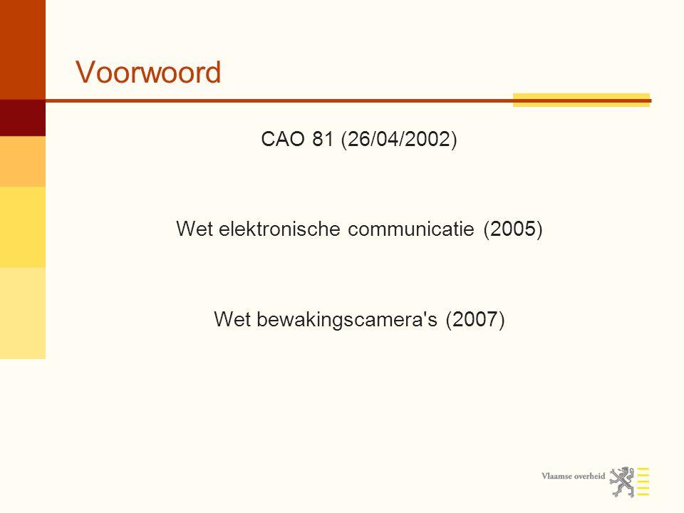 Voorwoord Adviezen & aanbevelingen van de Commissie Klokkenluiders / whistleblowing Biometrie Parkeergelden Direct marketing