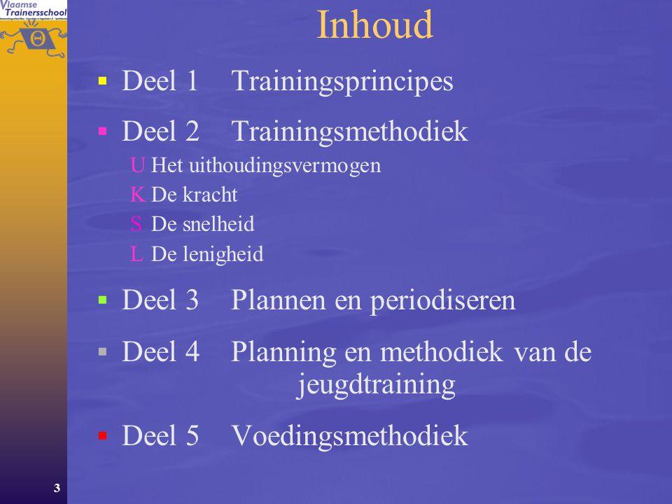 134 De maximale kracht 3 methodes  De dynamische methode: krachtwinst tgo.