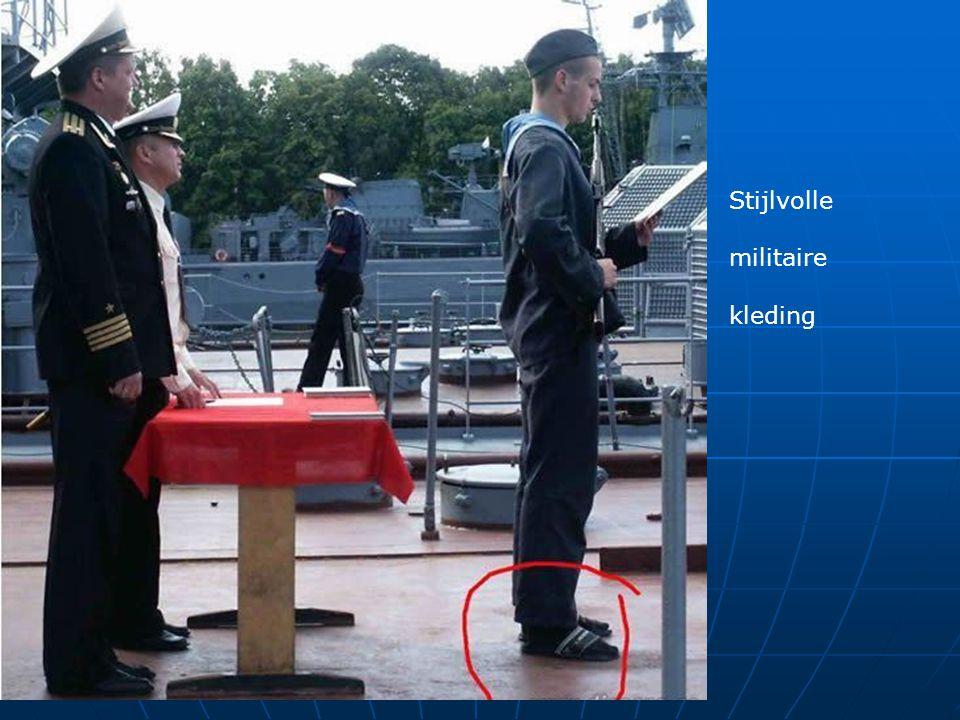 Stijlvolle militaire kleding