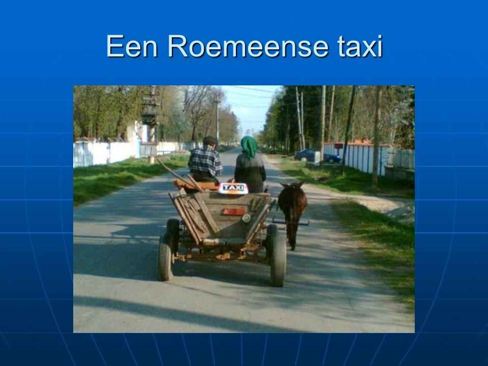 Een Roemeense taxi
