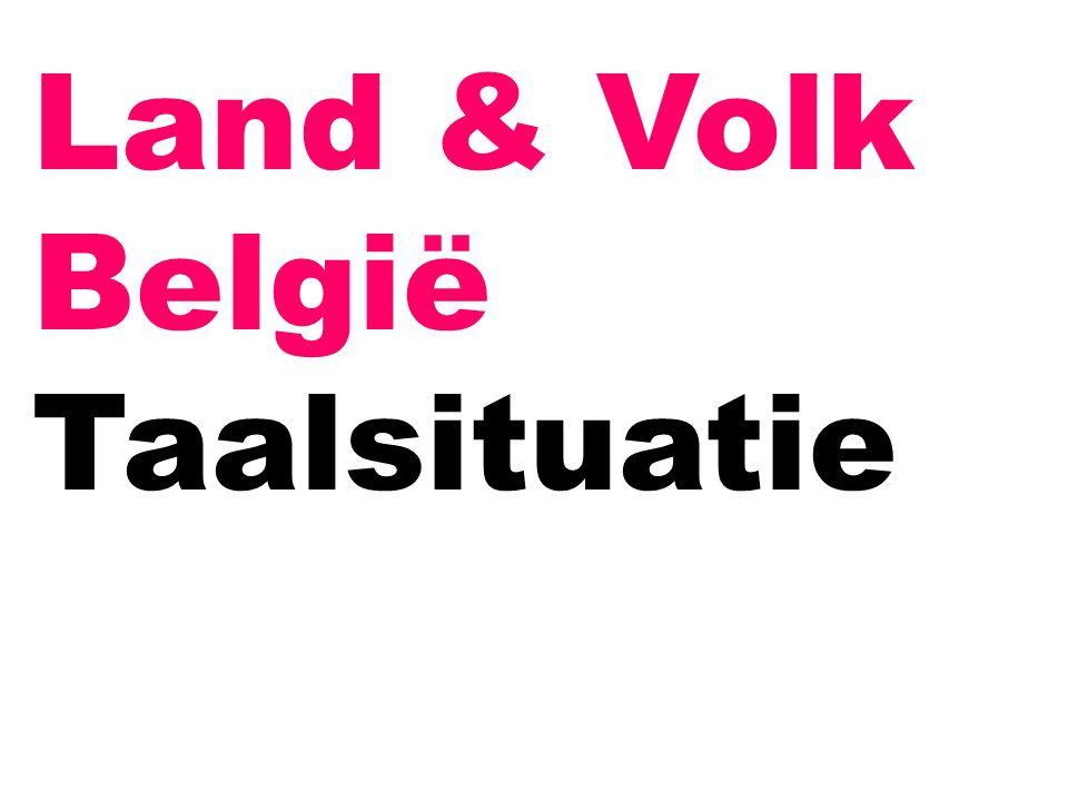Land & Volk België Taalsituatie