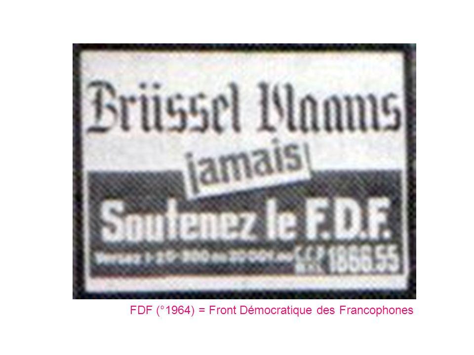 FDF (°1964) = Front Démocratique des Francophones