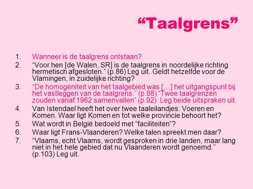 Nederlands (vs) Vlaams