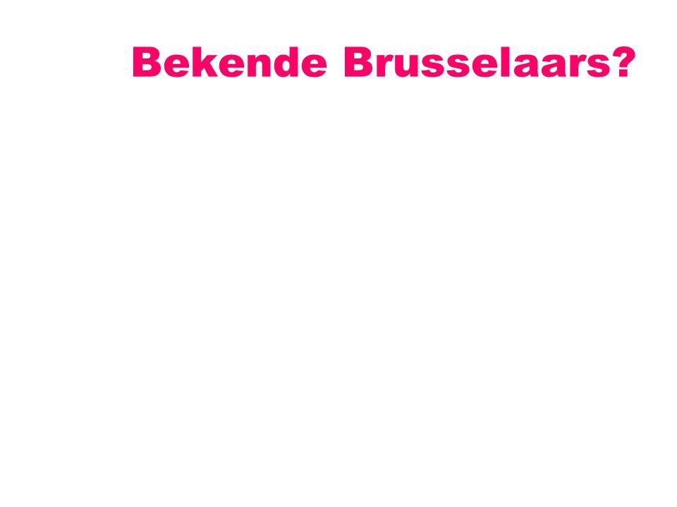 Bekende Brusselaars?