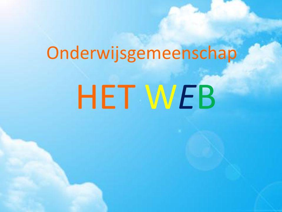 Onderwijsgemeenschap HET WEB De naam is gevormd uit de eerste letters van beide scholen.