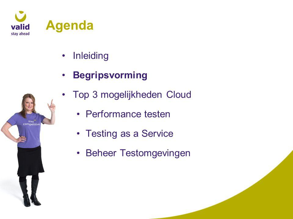 Cloud computing Definitie: de toepassing van externe datacenters voor het consumeren van IT resources als software, rekenkracht, opslag en IT-ondersteunende services.