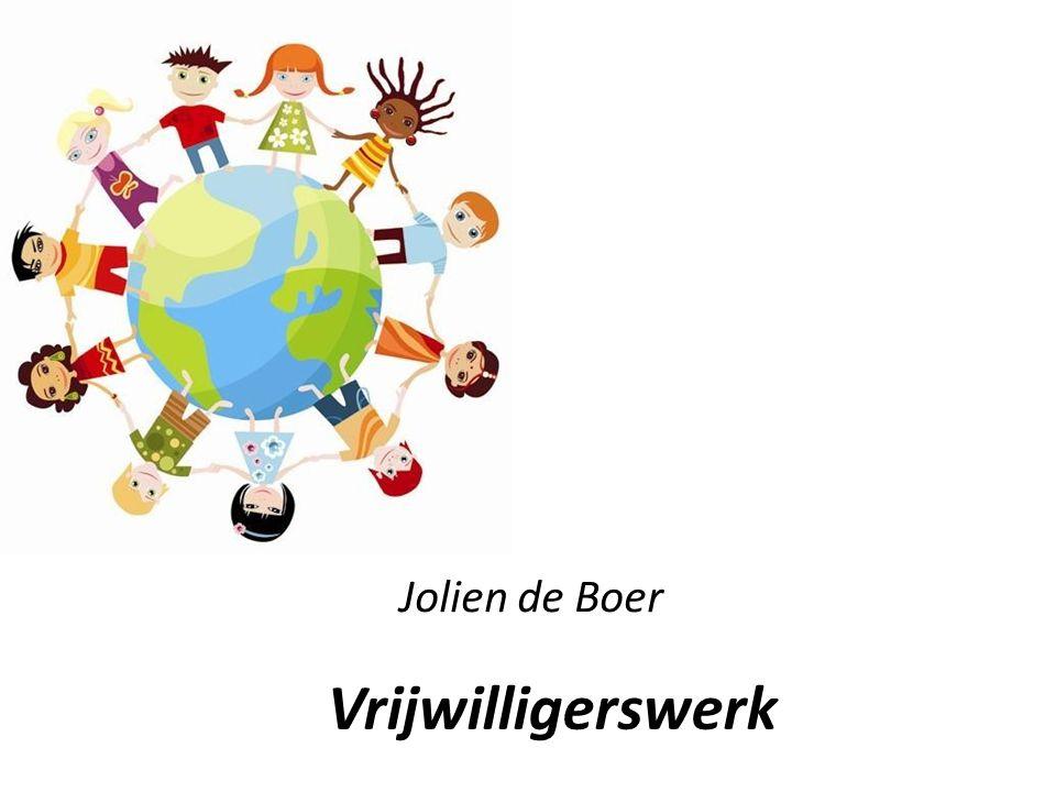 Vrijwilligerswerk Jolien de Boer