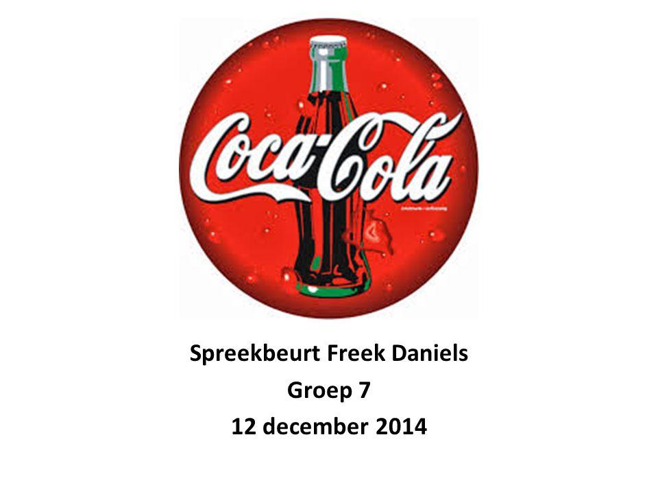 Inhoud Wat is Coca-Cola.Geschiedenis Cijfers Hoe maken ze Coca-Cola.