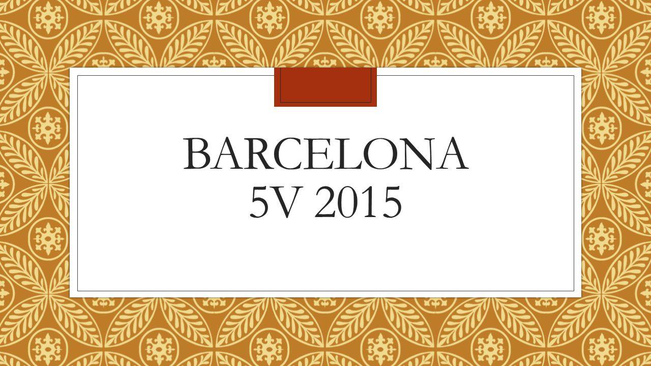 BARCELONA 5V 2015