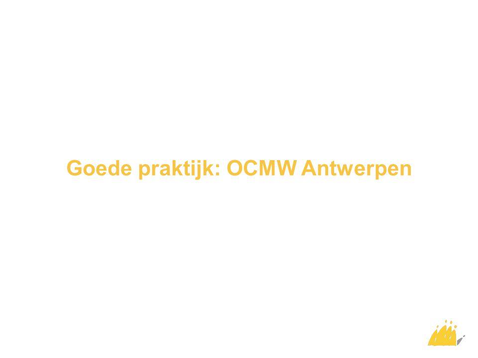 Goede praktijk: OCMW Gent