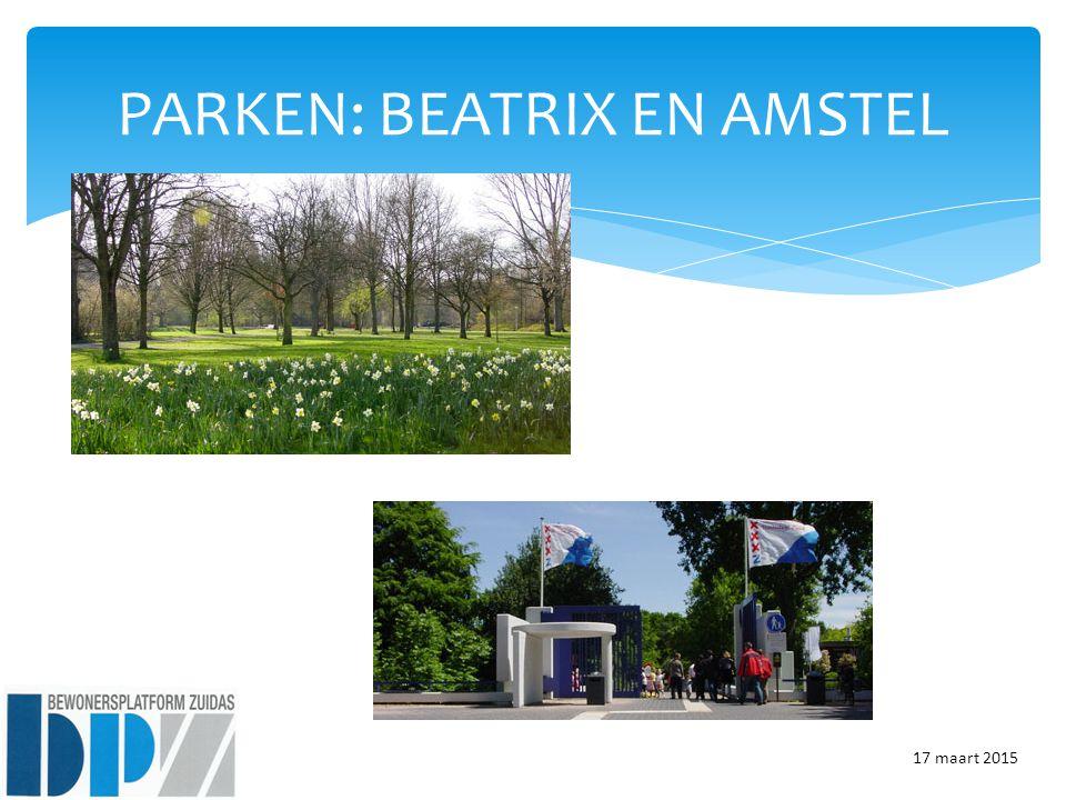 PARKEN: BEATRIX EN AMSTEL