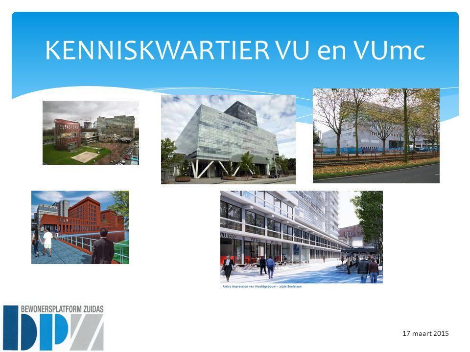 KENNISKWARTIER VU en VUmc 17 maart 2015