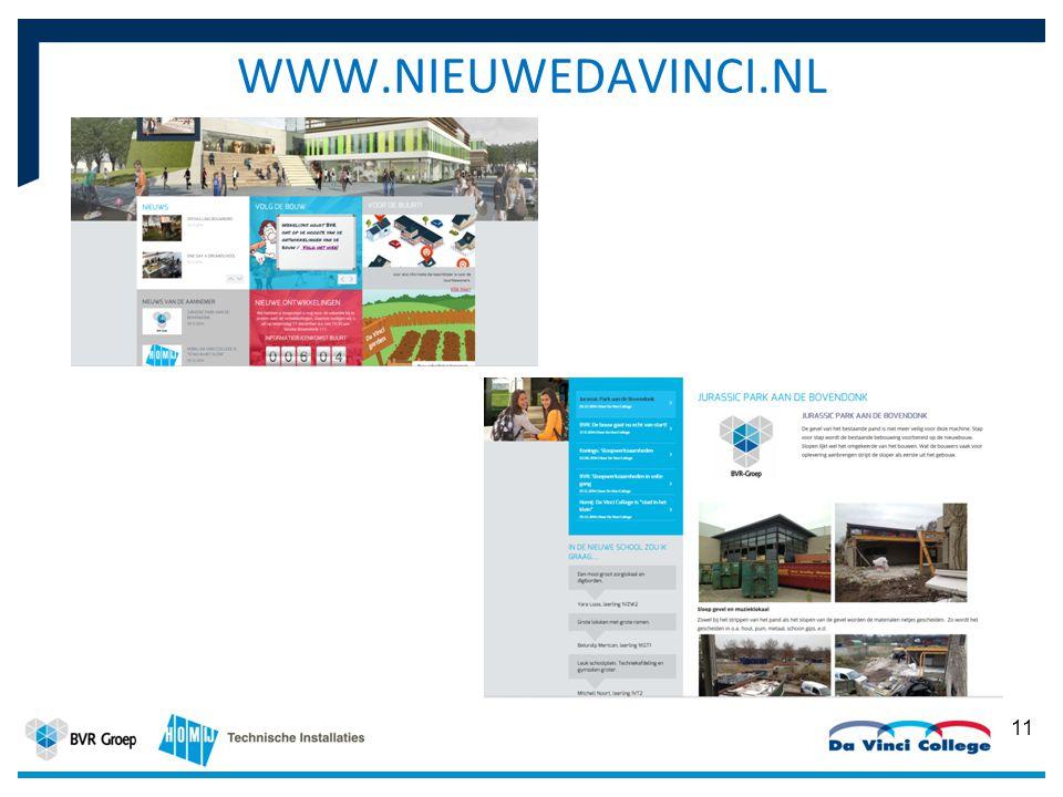 11 2014 WWW.NIEUWEDAVINCI.NL