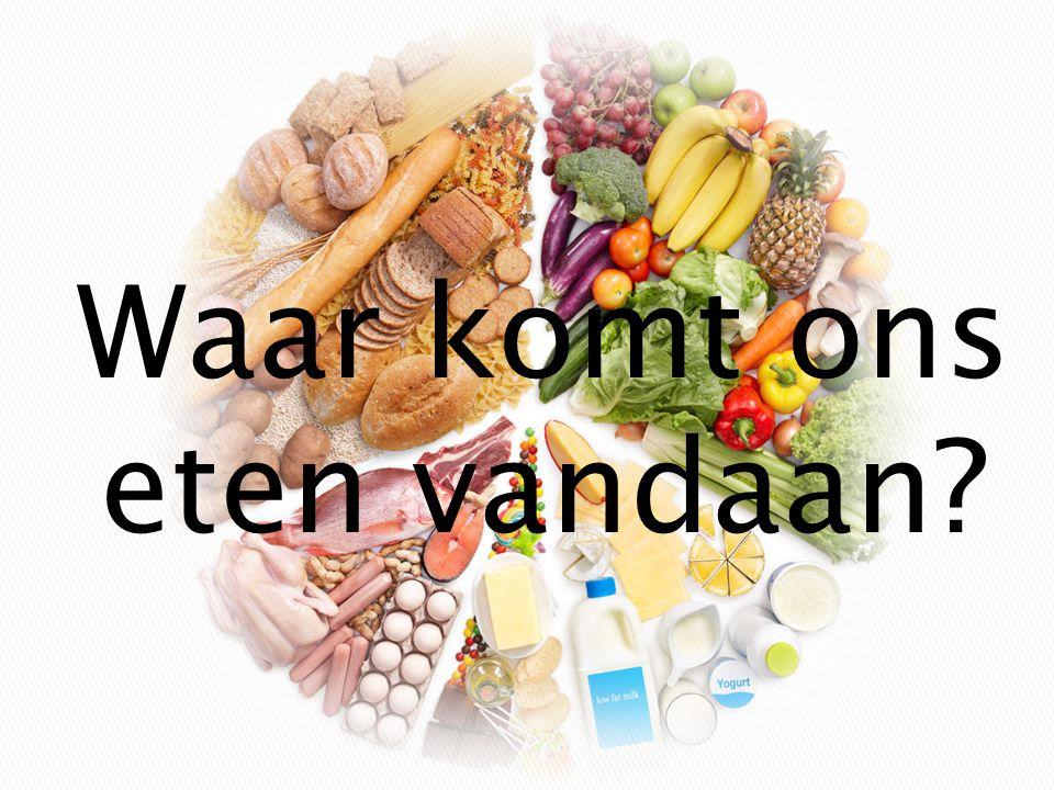  Verspreid over Europa produceren heel wat landbouwbedrijven een massa voedingsmiddelen die richting winkelrekken worden gevoerd