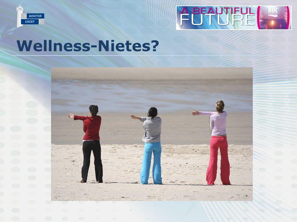 Opkomst wellness GfK: Ca. 30% van de bevolking 18+ doet aan Wellness
