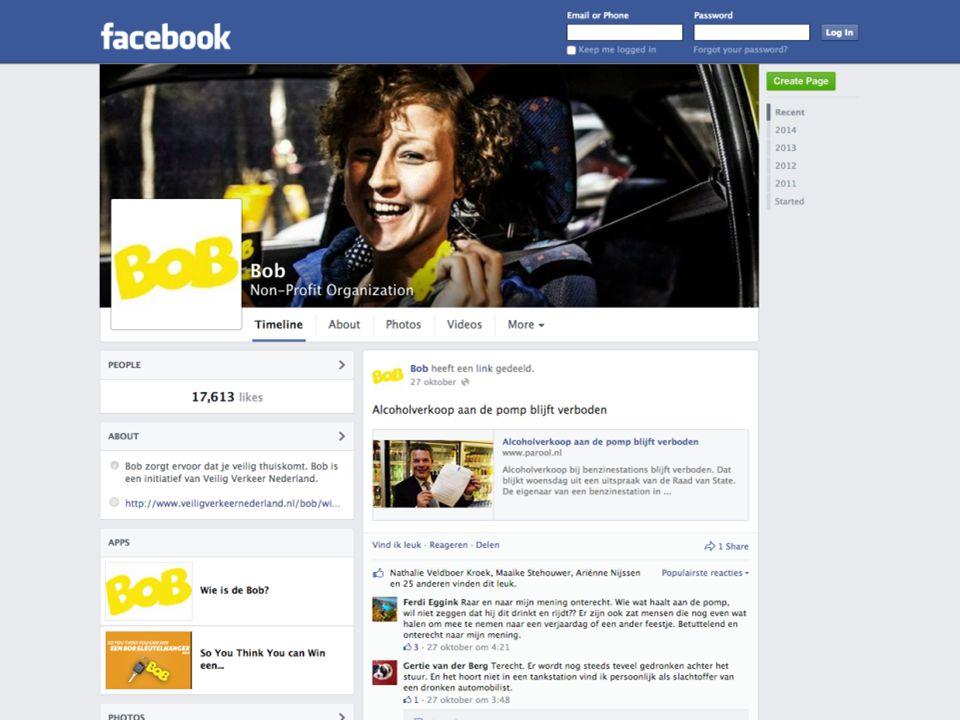 Doelgroepsegmentatie Evenementen Facebook KLPD Collega Bob Onderzoek Evenementen Facebook KLPD Collega Bob Onderzoek