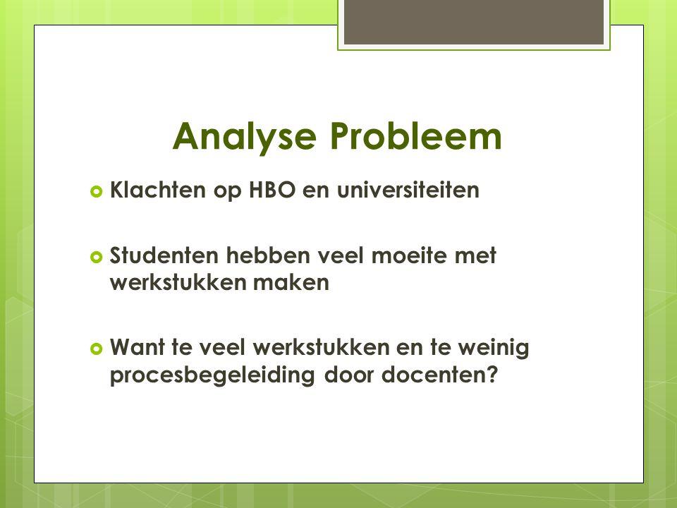 Voorgestelde Oplossing 1.Meer uitleg over voorwaarden PWS 2.